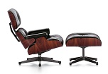 lounge chair & ottoman | by vitra