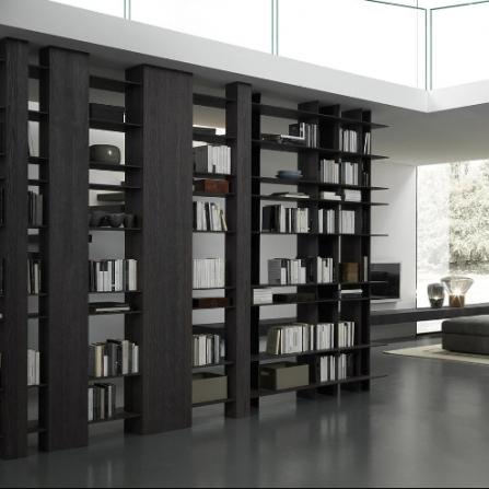 Modulnova sistemi giorno libreria blade andrea for Minieri arredamenti
