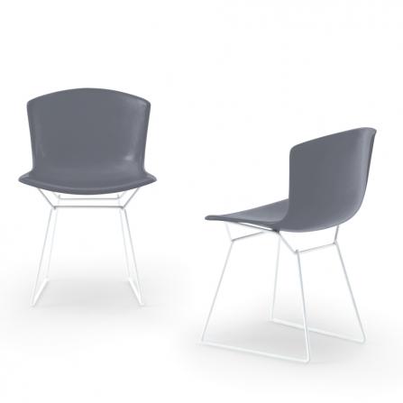 bertoia plastic side chair