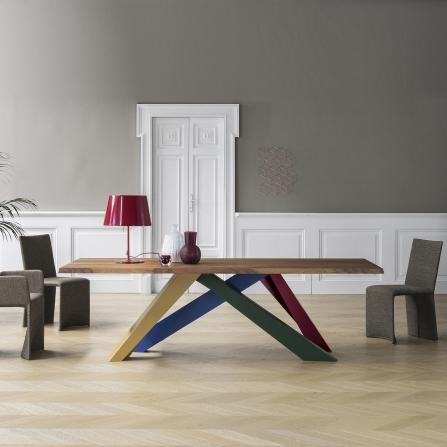Bonaldo tavoli big table alain gilles minieri for Horm arredamenti
